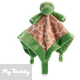 My Teddy nusseklud, My Turtle, grøn